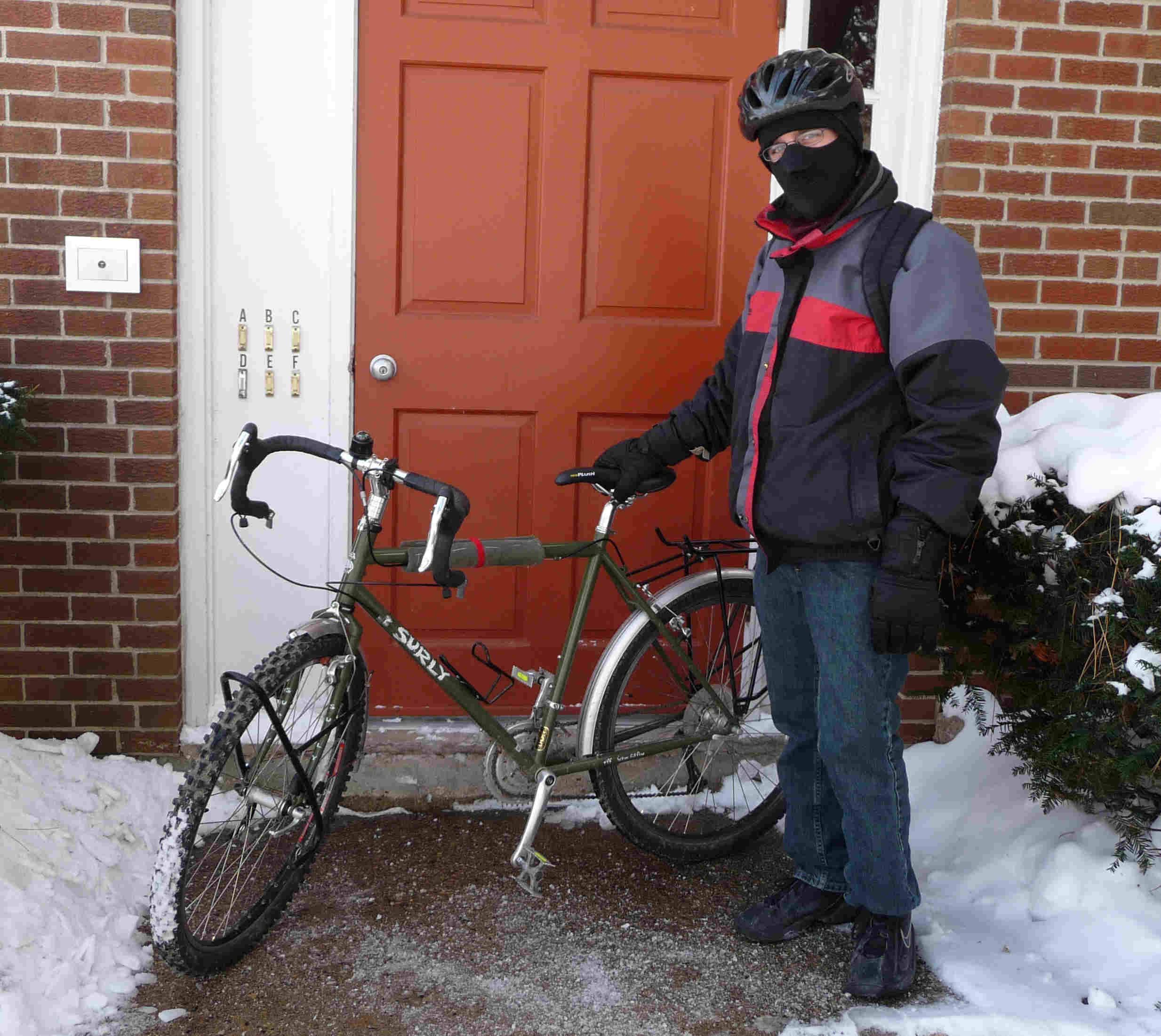 bike with knobs